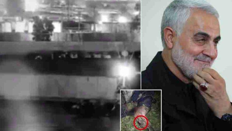 UZNEMIRUJUĆI SADRŽAJ; OBJAVLJEN NOVI SNIMAK LIKVIDACIJE: Iranski general Sulejmani identificiran je po prstenu