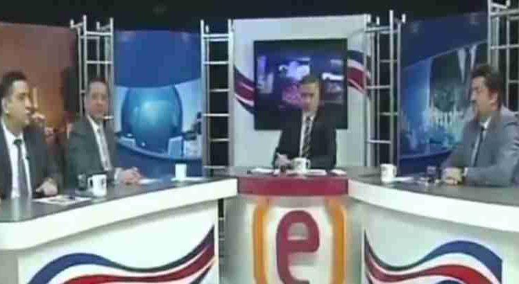 ŠOK U STUDIJU TURSKE TELEVIZIJE: Kamere zabilježile trenutak kad se sve zatreslo, zgrada se opasno zaljuljala…