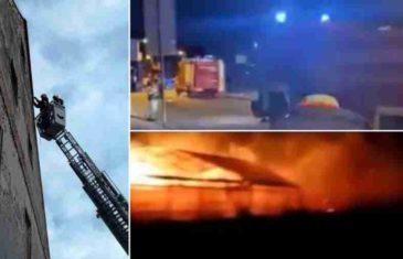 NEZAPAĆENO NEVRIJEME U HRVATSKOJ: Požar zaprijetio kućama, orkanski vjetrovi nose sve pred sobom