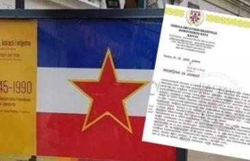 Zastava SFRJ u Rijeci izazvala burne reakcije: Saopštenje braniteljske udruge nešto je najnepismenije ikad