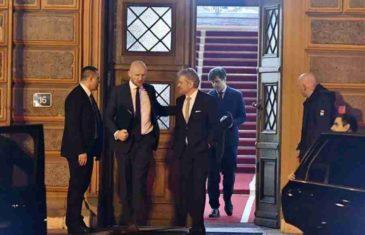 ZAVRŠEN SASTANAK U ZGRADI PREDSJEDNIŠTVA: Dodik odbio govoriti za medije…