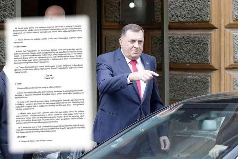 Pokušaj urušavanja države: Zašto je Dodiku u interesu odlazak stranih sudija