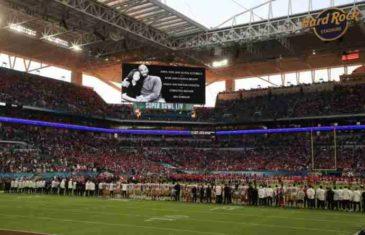 AMERIKA I SVET SU ZASTALI TOG TRENA: Nikad više tuge Super Bowlu! Ovako je odata počast Kobeju i Gianni! DA TI SRCE PUKNE OD BOLI