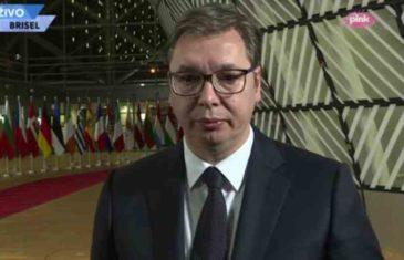 OBEĆAO PA SLAGAO: Vučić ni riječi na sastanku u Briselu o Dodikovim zahtjevima