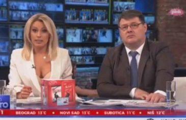 Skandalozno izdanje voditeljke jutarnjeg programa: U ovome Dajana Paunović priča o koronavirusu! (VIDEO)