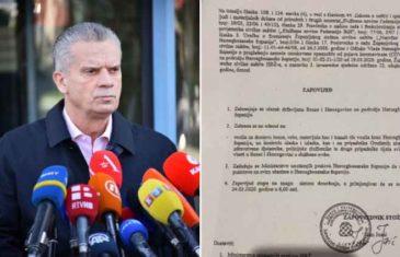Radončić podnosi krivičnu prijavu protiv premijera u Livnu: Ovo nije ni 1992. ni ratni period