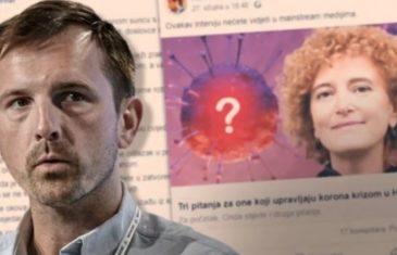 Mikloušić: Teoretičari zavjera, jeste li spremni ne otići u bolnicu kad vam zatreba?