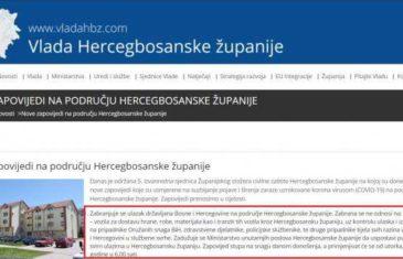 Državni udar na djelu: Kanton 10 zabranio ulazak državljanima BiH