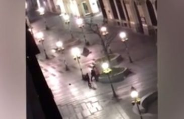 Policijski čas u doba korone: Šetao psa u centru praznog Beograda, a onda je naišla policija i postalo je gadno…