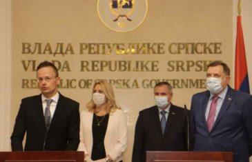"""NEVIĐENA SRAMOTA U BANJA LUCI: Mađarski ministar govorio """"Bosna i Hercegovina"""", a prevoditeljica prevodila """"Republika Srpska"""""""