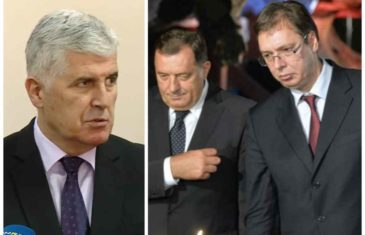 MA LJUDI MOJI, JE LI TO MOGUĆE: Čovićevi portali napali Dodika i Vučića!