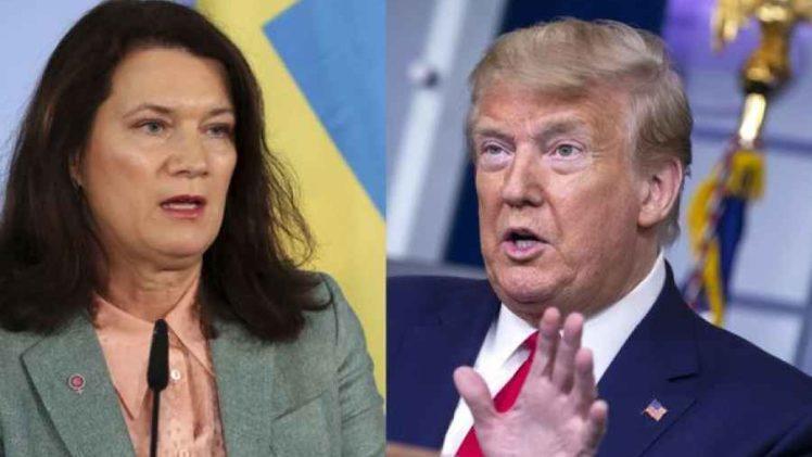 TRUMP NALJUTIO ŠVEĐANE: Ministrica Linde nije mogla prešutjeti ove netačne komentare američkog predsjednika
