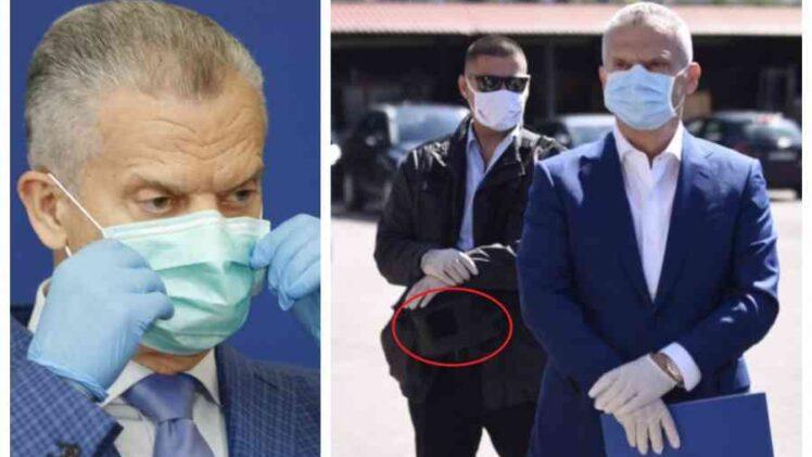 """""""SLOBODNA BOSNA"""" OTKRIVA: Evo šta Radončićevi zaštitari drže u specijalnim torbicama od kojih se nikad ne odvajaju"""
