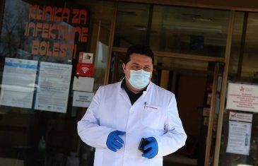 """ZARAŽENO OKO 50 MEDICINARA UKC-a, STEVANDIĆ TVRDI: """"Transmisija korona virusa zbog pacijenata BEZ SIMPTOMA"""""""