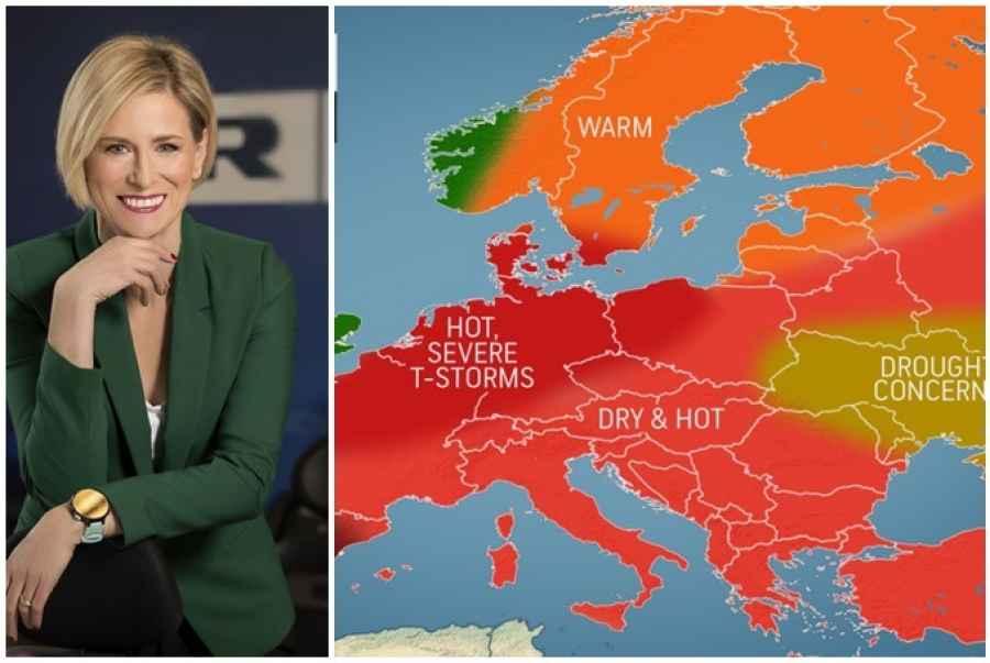 U EVROPU STIŽE PAKLENO LJETO: Temperature će ići iznad…