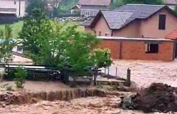 Živinice pod vodom, građani u panici: Očekujemo da će biti još gore ako kiša nastavi padati