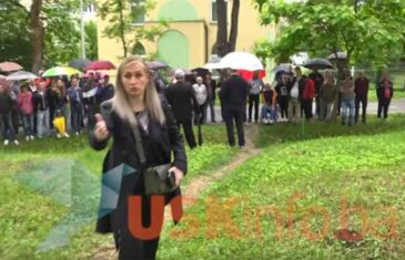 DA IH VIDI BABO: Bruka – uživo, pogledajte napad Abdićevih pristaša na novinara ispred Kantonalnog suda u Bihaću…