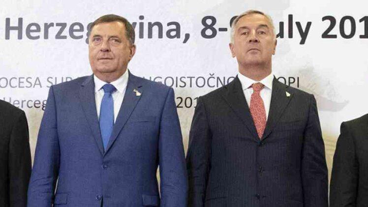 ANALIZA IFIMES-a: Dodik (Mile Ronhill) i Đukanović (Mr. Philip Morris) destabilizujući faktor na Balkanu?!