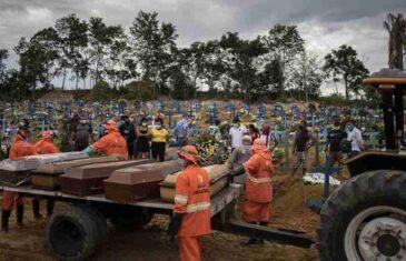 BROJ SMRTNIH SLUČAJEVA RASTE BRŽE NEGO IGDJE: Latinska Amerika gubi bitku s koronavirusom…