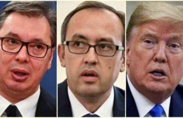 JE LI RJEŠENJE SPORA SRBIJE I KOSOVA PRI KRAJU?: Trump se uključio; Posredovat će razgovoru između Vučića i Hotija