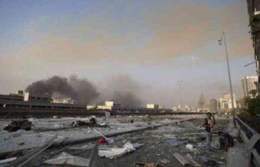 VANREDNO STANJE, RASTE BROJ ŽRTAVA U BEJRUTU: Najmanje 100 mrtvih, oglasili se i SVJEDOCI strahovite eksplozije
