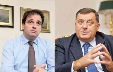 """GOVEDARICA VRLO DIREKTNO: """"Politika koju Dodik vodi, dovela je do jednog sunovrata i kraha, zakon o porijeklu imovine je njegov…"""""""