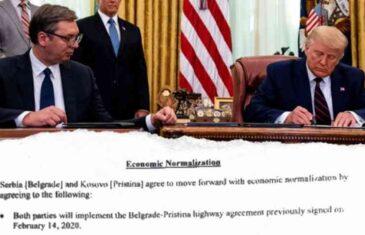 PIŠI PROPALO: Vašingtonski sporazum je samo spisak želja koje su Vučić i Hoti počeli tumačiti i prije nego što su došli kući…