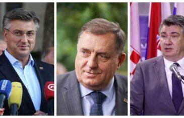 DODIKOVO PONIŽENJE U ZAGREBU: Domaćin ga neće tretirati kao člana Predsjedništva BiH nego kao…