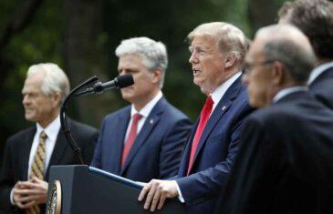 NIKO NIJE NOSIO MASKU: Deset bliskih Trampovih saradnika ima koronu