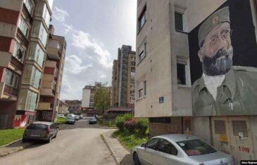 PRAVO LICE REPUBLIKE SRPSKE: Mural Draže Mihailovića pored mjesta s**ovanja i ubijanja bošnjačkih civila