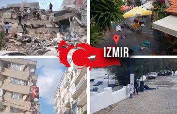KATASTROFALAN ZEMLJOTRES POGODIO TURSKU! Srušene zgrade, EGEJSKO MORE SE DIGLO, prijeti CUNAMI!
