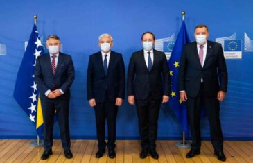 """NE STIŠAVAJU SE REAKCIJE NA POSJETU BRUXELLESU: """"Drastična promjena stava Milorada Dodika kada je u pitanju…"""""""
