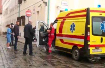 HOROR U ZAGREBU: Upucan policajac na ulazu u zgradu Vlade Hrvatske, čula se rafalna paljba…