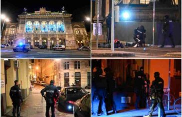 GASITE SVJETLA I LEZITE DOLE! Očevici opisuju haos u Beču! Terorista pucao po gostima kafića, a onda je policija sve okružila