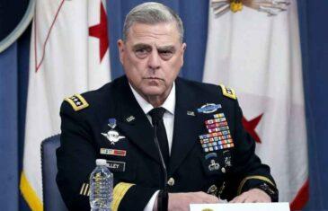 """OVO ĆE GA RASPAMETITI, GENERAL MILLEY POSLAO PORUKU TRUMPU: """"Američka vojska se ne zaklinje kralju ili kraljici, tiraninu ili…"""