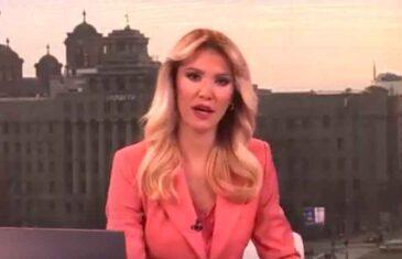 SVI JOJ SE SMIJU: Pogledajte kakvu je grešku napravila voditeljica TV Prva čitajući vijest o smrti patrijarha Irineja