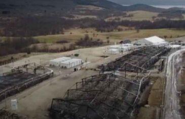 KAO IZ HOROR FILMOVA: Evo kako izgleda migrantski kamp Lipa dan nakon velikog požara