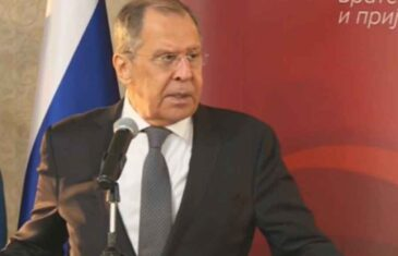 """""""NE IZAZIVAJTE SREĆU…."""": Odjeknula izjava Sergeja Lavrova pred sastanak s generalnim sekretarom NATO saveza Jensom Stoltenbergom"""