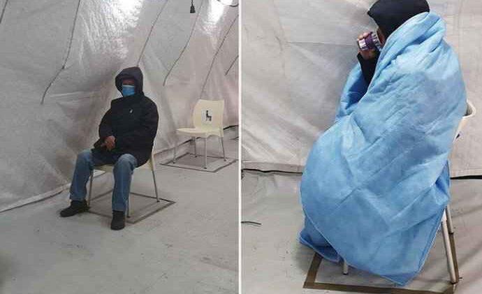 Sa upalom pluća devet sati čekao na pregled u ledenom šatoru u Zaraznoj
