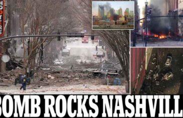 TERORISTIČKI NAPAD?: Velika eksplozija potresla Nashville