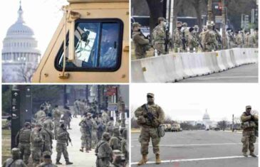 AMERIKA NA NOGAMA: Sve države u strahu od novih nereda, Nacionalna garda okupirala Vašington