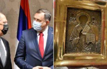 KLUPKO SE ODMOTAVA! Poznata vrijednost ikone koju je Dodik poklonio Lavrovu: Cijena joj je nevjerovatnih 12,5 miliona eura?!