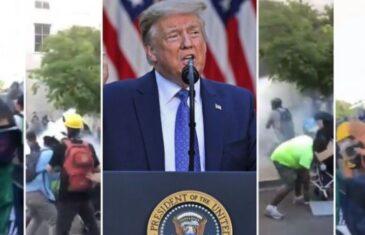 Amerika na rubu: Jedna riječ u Trumpovom (pomirljivom) govoru raspametila ekstremiste – 'to je skriveni kod'!
