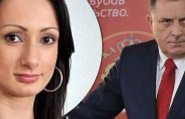 NEVJEROVATNO: Ponovo se oglasila Dodikova kćerka Gorica, ovolika količina laži i bljuvotina odavno nije viđena