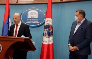 """TEGELTIJA KOD DODIKA, DAJTE MI SAD HARMONIKU: Tegeltija se predstavlja kao žrtva """"političkog Sarajeva"""", u čemu ga slijepo slijedi i Gordana Tadić, a njih dvoje su, zapravo, ti koji su progonili, hapsili i tužili protivnike!"""