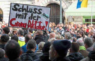 """Sprema li se u Austriji pobuna antikoronaša? """"Uđite u radnje širom zemlje i skinite maske"""""""