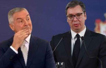 MILO ZA DRAGO: Đukanović nikad nije ovako napao Vučića