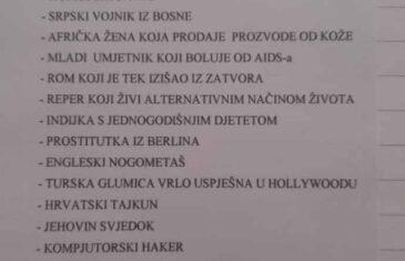 Cijela Hrvatska bruji o ovome, zadatak učenicima na vjeronauci: Da li bi radije sjedili pored srpskog vojnika iz Bosne, p**stitutke, Roma koji je tek izašao iz zatvora… OGLASILA SE I ŠKOLA