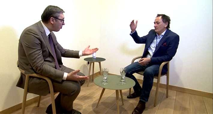 Superekskluzivno: Prvi intervju Predsjednika Repubike Srbije za neku BH televiziju!