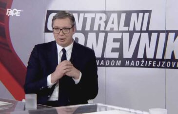 Vučić: Ne pravim veliku Srbiju, nisam pucao na Sarajevo, ne komadajte vi Srbiju!